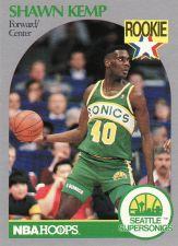 Buy 1990-91 Hoops #279 - Shawn Kemp - Supersonics