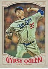 Buy 2016 Gypsy Queen #44 - Hyun-Jin Ryu - Dodgers