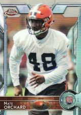 Buy 2015 Topps Chrome #164 - Nate Orchard - Browns