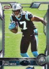 Buy 2015 Topps Chrome #107A - Devin Funchess - Panthers