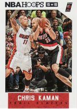 Buy 2015-16 Hoops #157 - Chris Kaman - Trail Blazers