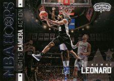 Buy 2015-16 Hoops Lights Camera Action #28 - Kawhi Leonard - Spurs