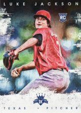 Buy 2016 Diamond Kings #177 - Luke Jackson - Rangers