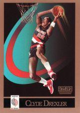 Buy 1990-91 Skybox #233 - Clyde Drexler - Trail Blazers