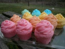 Buy mini cupcake soaps. set of 12