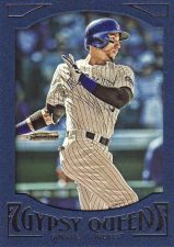 Buy 2016 Gypsy Queen Framed Blue #6 - Carlos Gonzalez - Rockies