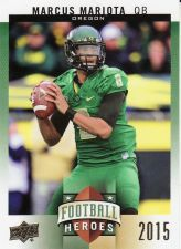 Buy 2015 Upper Deck College Football Heroes Rookies # CFH-MM7 - Marcus Mariota