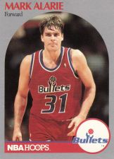 Buy 1990-91 Hoops #295 - Mark Alarie - Bullets