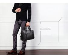 Buy Shark-borough multifunction leather business briefcase