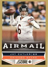 Buy 2013 Score Gold Zone #226 - Jay Cutler - Bears