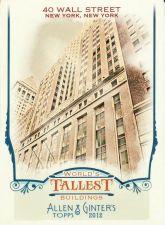 Buy 2012 Allen & Ginter World's Tallest Buildings #WTB8 - 40 Wall Street
