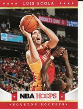 Buy 2012-13 Hoops #47 - Luis Scola - Rockets