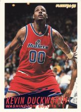 Buy 1994-95 Fleer #231 - Kevin Duckworth - Bullets