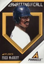 Buy 2013 Pinnacle Awaiting The Call #AC7 - Fred McGriff - Braves