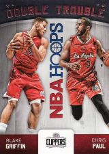 Buy 2015-16 Hoops Double Trouble #7 - Blake Griffin - Chris Paul - Clippers