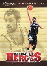 Buy 2012-13 Prestige Hardcourt Heroes #7 - Kevin Love - Timberwolves