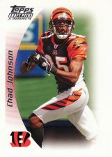 Buy 2005 Topps Draft Picks And Prospects #36 - Chad Johnson - Bengals