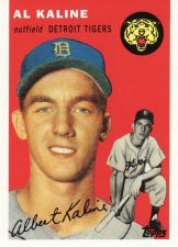 Buy 2010 Topps Cards Your Mom Threw Out Original Back #201 - Al Kaline - Tigers