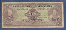 Buy Venezuela 10 Bolivares 1979 Banknote D24986466