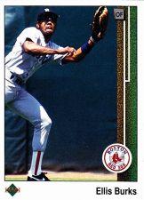 Buy Ellis Burks #434 - Red Sox 1989 Upper Deck Baseball Trading Card
