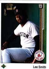 Buy Lee Smith #521 - Red Sox 1989 Upper Deck Baseball Trading Card