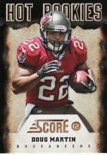 Buy 2012 Score Hot Rookies #10 - Doug Martin - Buccaneers