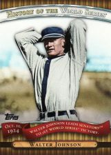 Buy 2010 Topps History Of The World Series #2 - Walter Johnson - Senators