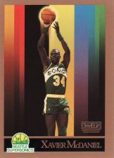 Buy 1990-91 Skybox #269 - Xavier McDaniel - Supersonics