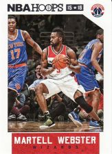 Buy 2015-16 Hoops #154 - Martell Webster - Wizards