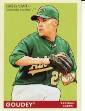 Buy 2009 Goudey #141 - Greg Smith - Rockies