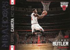 Buy 2015-16 Hoops Lights Camera Action #1 - Jimmy Butler - Bulls