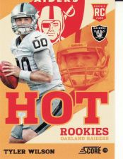 Buy 2013 Score Hot Rookies #9 - Tyler Wilson - Raiders