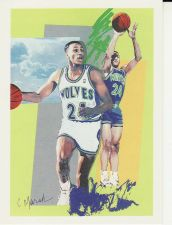 Buy 1990-91 Hoops #370 - Pooh Richardson - Timberwolves