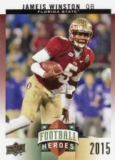 Buy 2015 Upper Deck Football Heroes Rookies #CFH-JW5 - Jameis Winston
