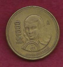 Buy Mexico 1000 Pessos 1989 Coin - Juana de Asbaje