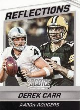 Buy 2016 Score Reflections #10 - Derek Carr - Aaron Rodgers