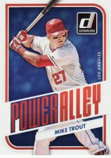 Buy 2016 Donruss Power Alley #2 - Mike Trout - Angels
