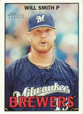 Buy 2016 Topps Heritage #148 - Will Smith - Brewers