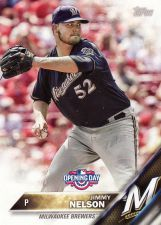 Buy 2016 Topps Opening Day #OD23 - Jimmy Nelson - Brewers