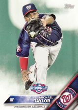 Buy 2016 Topps Opening Day #OD40 - Michael Taylor - Nationals