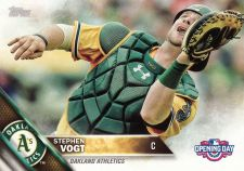 Buy 2016 Topps Opening Day #OD37 - Stephen Vogt - Athletics