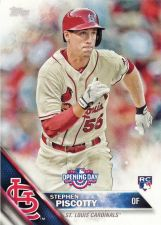 Buy 2016 Topps Opening Day #OD161 - Stephen Piscotty - Cardinals