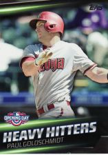 Buy 2016 Topps Opening Day Heavy Hitters #HH12 - Paul Goldschmidt - Diamondbacks