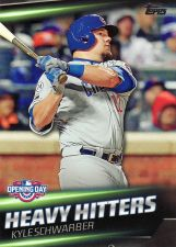 Buy 2016 Topps Opening Day Heavy Hitters #HH4 - Kyle Schwarber - Cubs