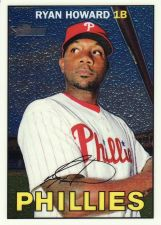 Buy 2016 Topps Heritage Chrome #THC290 - Ryan Howard - Phillies