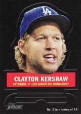 Buy 2016 Topps Heritage Stand Ups #3 - Clayton Kershaw - Dodgers