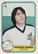 Buy 1981 Fleer #352 - Francisco Barrios - White Sox