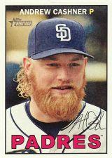 Buy 2016 Topps Heritage #103 - Andrew Cashner - Padres