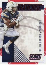 Buy 2016 Score Franchise Red #16 - Melvin Gordon - Chargers