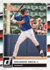 Buy 2016 Donruss The Prospects #7 - Orlando Arcia - Brewers